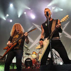 Dave Mustaine Says It Was 'Very Cathartic' To Perform With Metallica