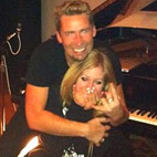 Avril Lavigne Fell For Chad's Humor