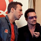 U2 Recording New Album with Chris Martin?