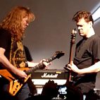 Dave Mustaine Denies Kicking Newsted Off Soundwave