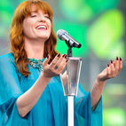 Florence Welch Gives Update on New Album