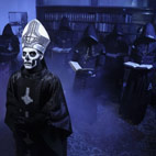 Ghost Frontman Unmasked by Behemoth's Nergal