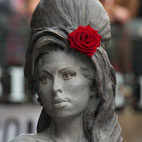 Amy Winehouse Statue Unveiled in Camden