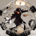Today in Crazy Instruments: Meet Yamaha's 360-Degree Spherical Drum Kit