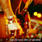Top 20 Rock Riffs Of All Time