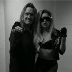 Lady Gaga: 'Roadie' For Iron Maiden