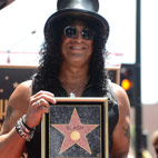 Slash Honored On Hollywood Walk Of Fame