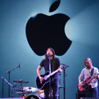 Foo Fighters Help Launch New Apple Lineup