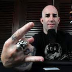 Scott Ian Announces Spoken Word Tour By Flamethrowing Snowman