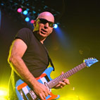 Joe Satriani to Play National Anthem at U.S Grand Prix
