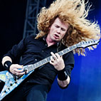 Megadeth Tune Down One Step to Compensate for Dave Mustaine's Voice