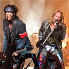 Motley Crue Debuts New Song 'All Bad Things' Live