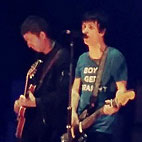 Noel Gallagher Joins Johnny Marr on Stage at Brixton Academy