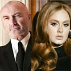 Phil Collins on Adele Album Snub: 'She's a Slippery Little Fish'