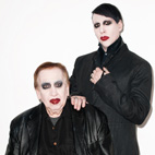 Marilyn Manson and His Father Pose in Full Makeup for Surprising Photoshoot