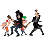 Slash Rocks With Phineas & Ferb