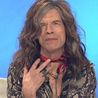 Mick Jagger Imitates Steven Tyler On SNL