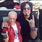 13-Year-Old Girl's Anti-Bullying Video Leads To Meeting With Nikki Sixx