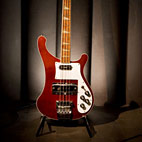 Hal Leonard Publishes 'The Rickenbacker Electric Bass - 50 Years as Rock's Bottom'