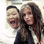 Psy and Steven Tyler Record a Song Together
