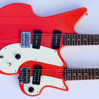 This Double-Neck Guitar Can Be Easily Torn Apart Into Two Separate Guitars, Check It Out