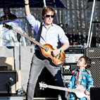 Paul McCartney Invites Two-Year-Old Fan On Stage