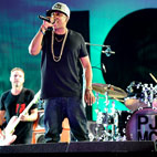 Pearl Jam Joined On Stage By Jay-Z