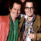 Johnny Depp And Keith Richards Record Pirate Songs