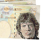 The Beatles, Mick Jagger, Robbie Williams Considered For New £10 Banknote