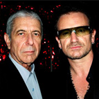 Bono Calls Leonard Cohen's 'Hallelujah' The 'Most Perfect Song In The World'