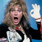 David Lee Roth Insured His Penis