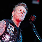 James Hetfield Joins Kids for 'Enter Sandman' Jam