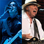Jack White and Neil Young Working on Covers Album