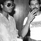 Unreleased Freddie Mercury, Michael Jackson Collaboration Available for Streaming