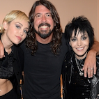 Watch Dave Grohl and Miley Cyrus Perform With Joan Jett at Rock Hall Induction