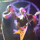 Anthrax Perform 'Bring the Noise' With Public Enemy's Chuck D at Final House of Blues Metal Show