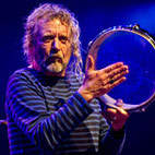 Led Zeppelin's Robert Plant Knocked Over During Buenos Aires Performance