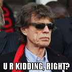 Mick Jagger Blamed for Brazil World Cup Defeat