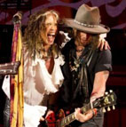 Johnny Depp Joins Aerosmith on Stage for Surprise Guest Performance