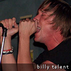 Billy Talent On Canadian Punk Tour