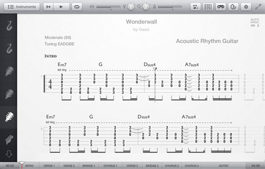 Tab Pro - View guitar tablature and learn how to play your favorite songs on guitar. : UG Plus ...