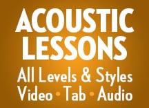 Acoustic Lessons