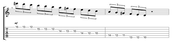 39 e 39 dominant phrygian shred lick guitar lessons ultimate guitar com. Black Bedroom Furniture Sets. Home Design Ideas
