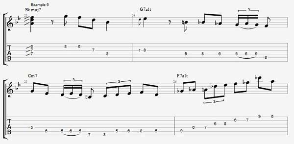 Practicing Scales Through Changes With Jens Larsen Guitar Lessons
