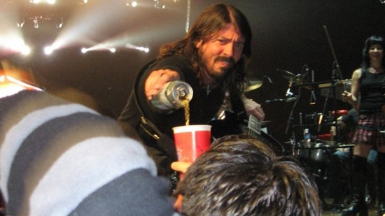 Dave Grohl ve alkol