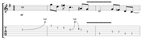Guitar ac dc guitar tabs : AC/DC: 'You Shook Me All Night Long' Guitar Solo Lesson with Chris ...