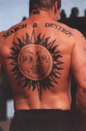 Henry Rollins Chest Tattoos