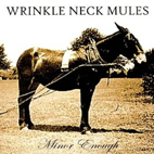 Wrinkle Neck Mules: Minor Enough