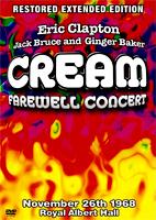 Cream: Farewell Concert [DVD]
