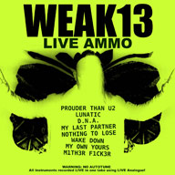 WEAK13: Live Ammo
